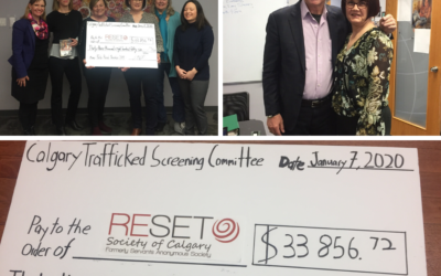 Trafficked Film Screenings in support of RESET Society of Calgary