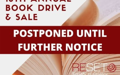 Book Drive & Sale Postponed